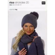 Rico Idée à tricoter 20<BR>Essentials Big