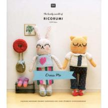 Livret Ricorumi Dress Me<BR>4 amigurumis en tenue