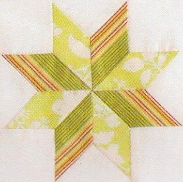 bloc patchwork géométrque