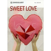 Livret No 314 ZWEIGART<BR>Sweet Love