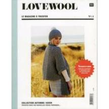 magazine tricot RICO <BR>LOVEWOOL N°1 modèles hiver