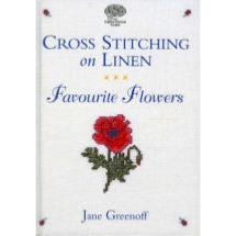 Cross Stitching on Linen<BR>Favourite Flowers<BR>livre Editions CSG-Zweigart