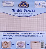 Canevas soluble pour broderie